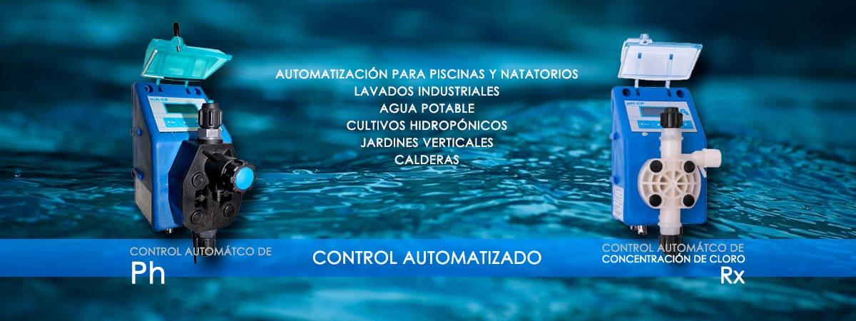 control automatizado de bombas dosificadoras argentinas agua de pozo piscinas piletas bda